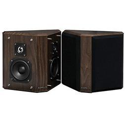 Fluance SXBP2W Home Theater Bipolar Surround Sound Speakers