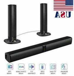 Theater&Remote Surround Sound Bar 4 Speaker System Wireless