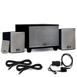 Theater Solutions TS220 Powered Bluetooth 2.1 Speaker System