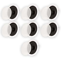 """Theater Solutions TS65C in Ceiling 6.5"""" Speakers Surround So"""