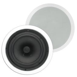 """Theater Solutions TS80C In Ceiling 8"""" Speakers Surround Soun"""