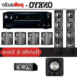 Polk Audio TSi 500 7.1-Ch Home Theater Speaker System with O