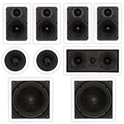 Theater Solutions TST57 In Wall and In Ceiling 1700W Home Th