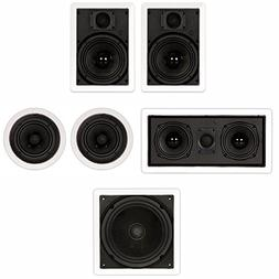 """Theater Solutions TST65 In Wall and In Ceiling 6.5"""" Speakers"""