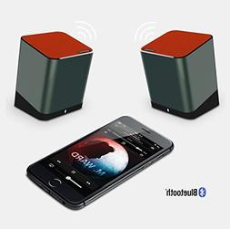 ampmob gear Twins Wireless Speakers Support 2.0 Left & Right