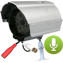 USG CCTV Outdoor Microphone : Security System Microphone : R