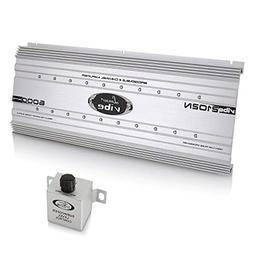 2 Channel Car Stereo Amplifier - 6,000 Watt Dual Channel Bri