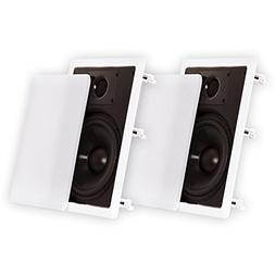 Theater Solutions 8 Inch In Wall Speakers Home Theater Surro
