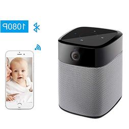 StartVision 1080P Wifi IP Camera and Bluetooth Speaker,Secur