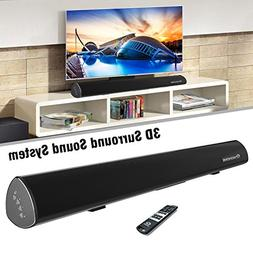 Wohome S9920 Soundbar, TV Sound Bar Wireless Bluetooth and W