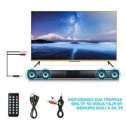 Wireless Bluetooth 4*5W Soundbar Music Surround Sound System