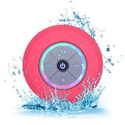 Elitehood Bluetooth Shower Speakers with FM Radio & Suction