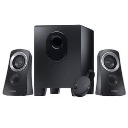 Logitech Z313 3-Piece 2.1 Channel Multimedia Speaker System,