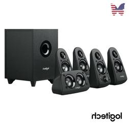 Logitech Z506 Surround Sound System For Home TV DVD Intense